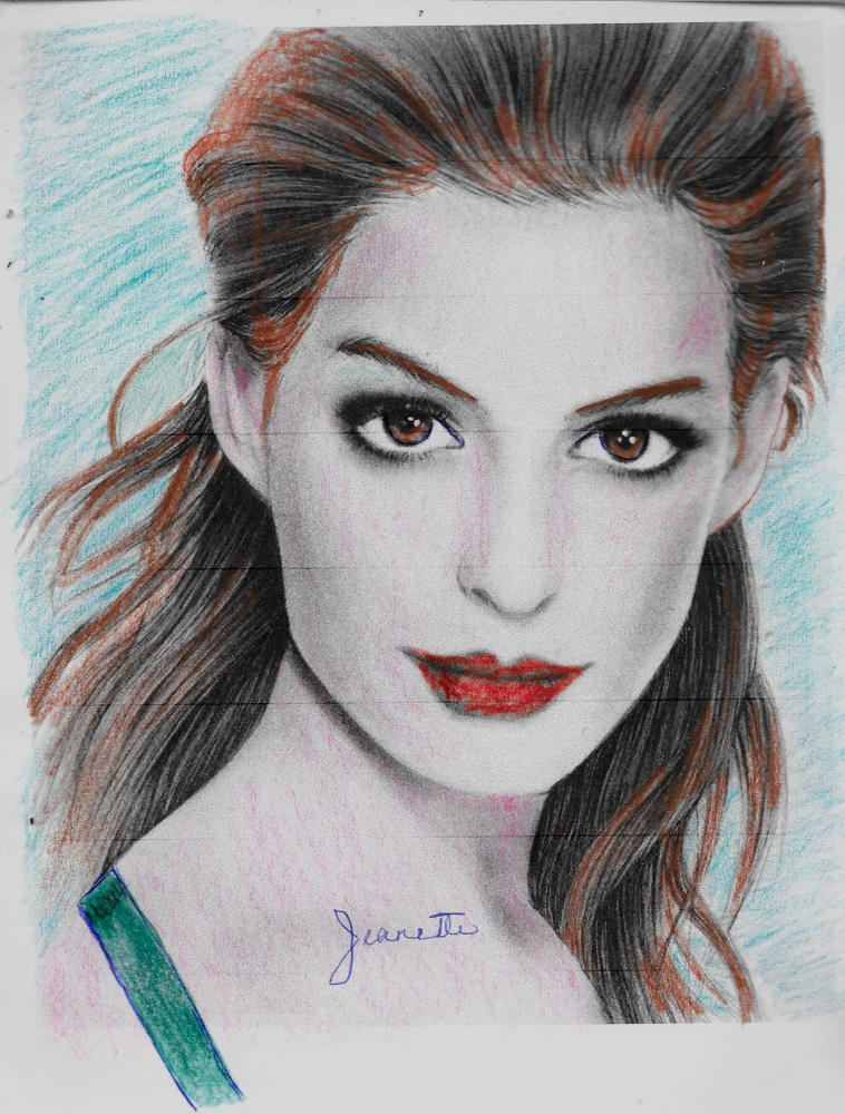 Anne Hathaway by Jeanette